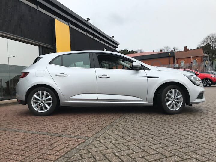 Silver Renault Megane Play Tce 2019