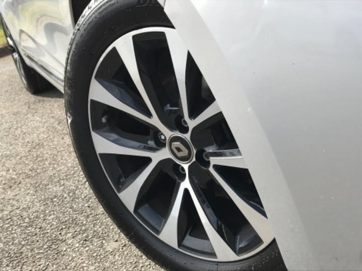 Silver Renault Clio Iconic Tce 2019