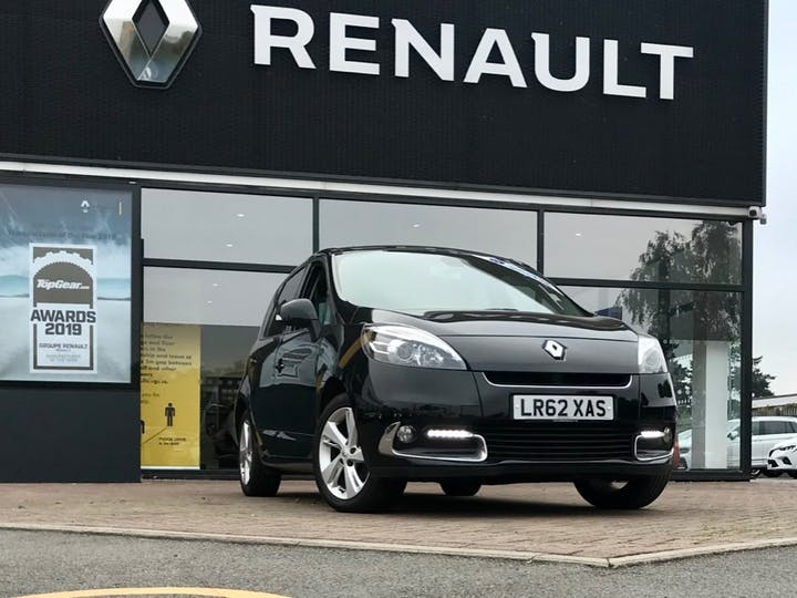 Black Renault Scenic Dynamique Tomtom Energy DCi S/S 2012