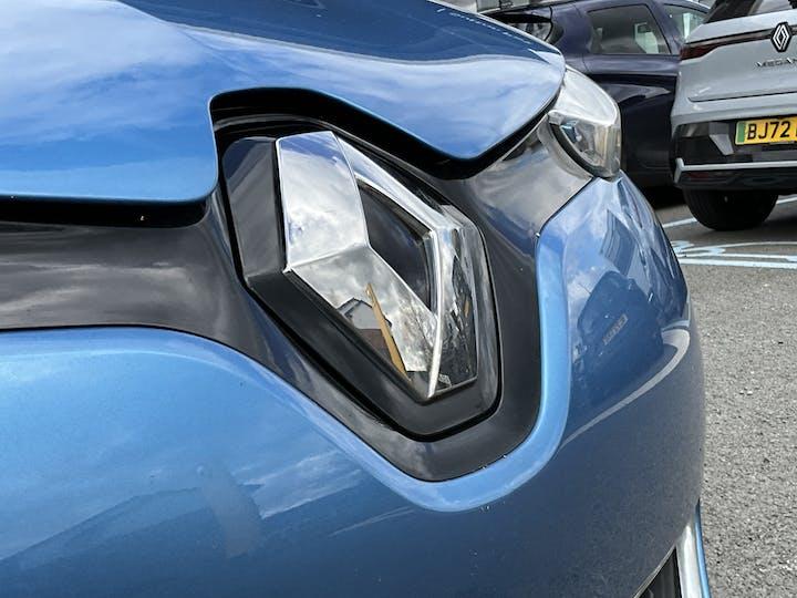 Blue Renault Zoe Dynamique Nav Quick Charge 2018