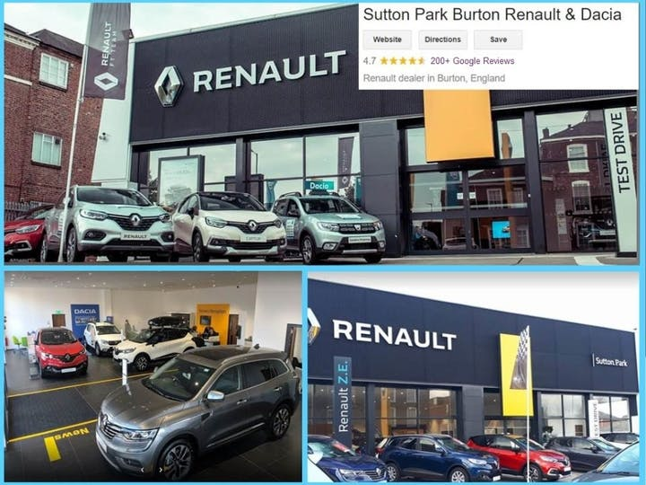 White Renault Clio Play Tce 2020